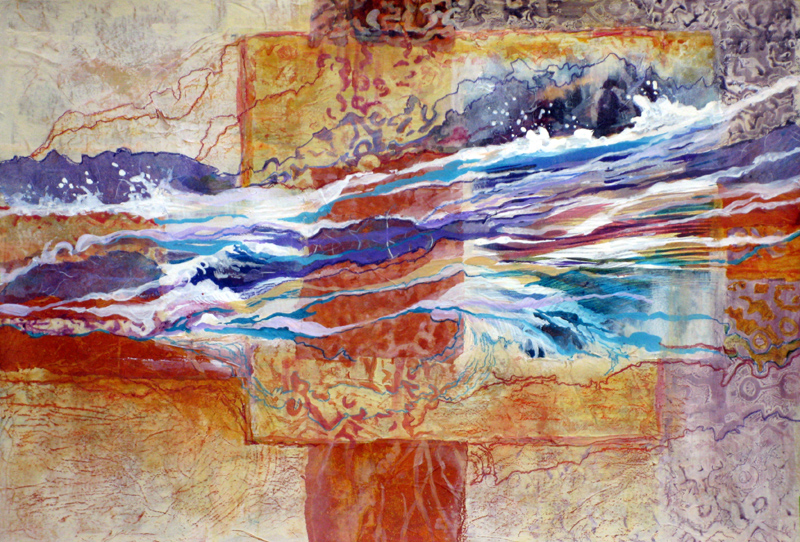 River Tapestry Painting
